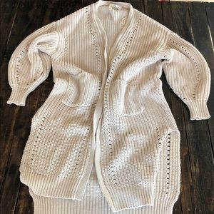 🌿NWOT AA Lost & Wander Chunky Cardigan Sz S/M